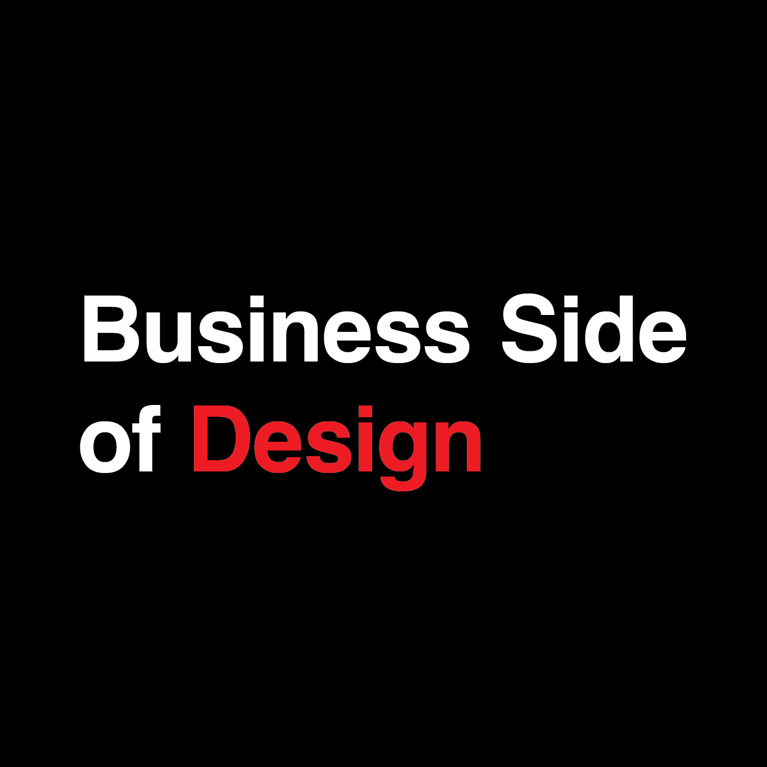Business Side of Design